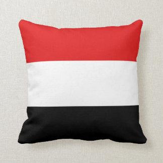 Yemen Flag x Flag Pillow