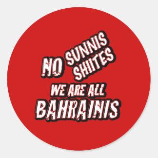 Yemen King Hamad reforms Sticker