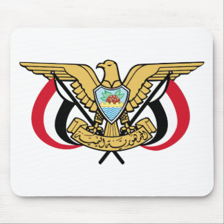 Yemen National Emblem Mousepads
