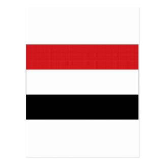 Yemen National Flag Postcard