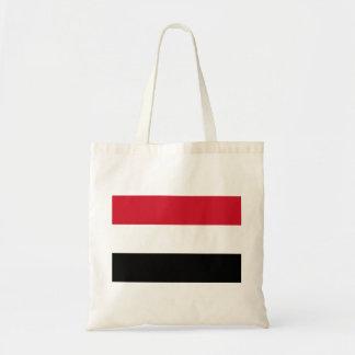 Yemen National World Flag Tote Bag