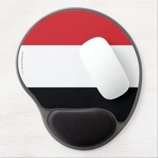 Yemen Plain Flag Gel Mouse Pad