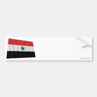 Yemen Waving Flag (1962-1990) Bumper Stickers