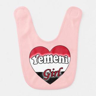 Yemeni Girl Baby Bib