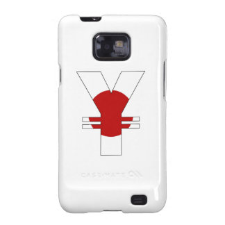yen currency symbol money sign japan flag samsung galaxy s2 cases