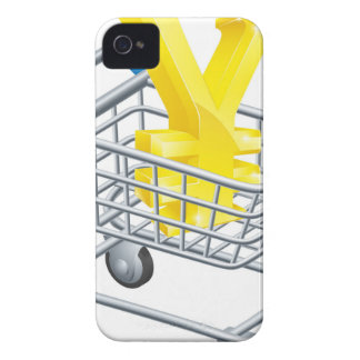 Yen money trolley concept iPhone 4 cases