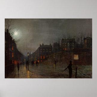 Yendo a casa en la oscuridad, 1882 impresiones