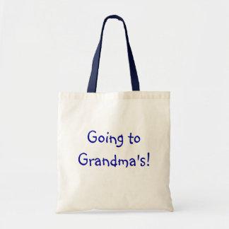 """""""Yendo al bolso de la abuela"""" Bolsa Tela Barata"""