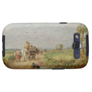 Yendo al henar, 1853 (aceite en cartón para encuad samsung galaxy s3 cárcasa