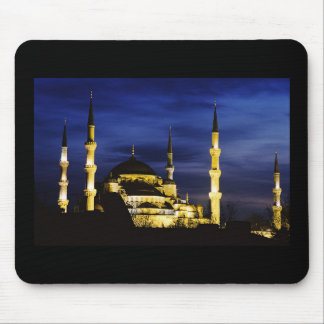 Yeni Valide Mosque at Night Mouse Pad
