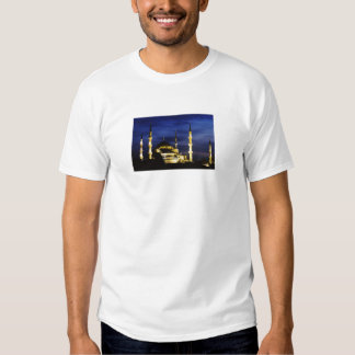Yeni Valide Mosque at Night T Shirt