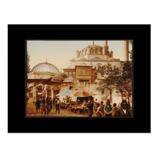 Yeni Valide Mosque in Istanbul Postcard