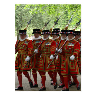 yeoman body guard postcard