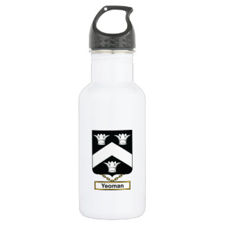 Yeoman Family Crest 18oz Water Bottle