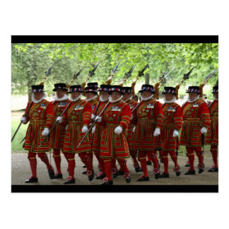 yeoman guard border postcard