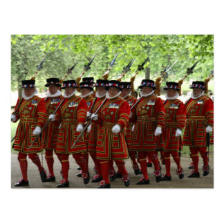 yeoman guard postcard