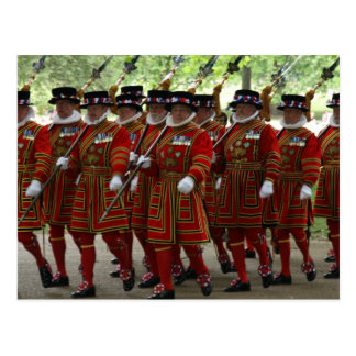 yeoman guards postcard
