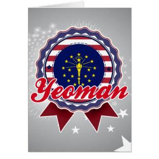 Yeoman IN Card