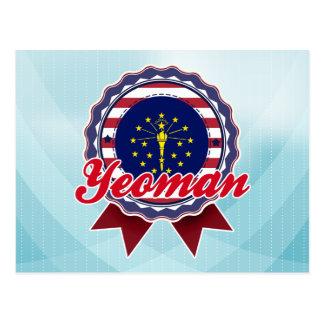 Yeoman IN Postcard