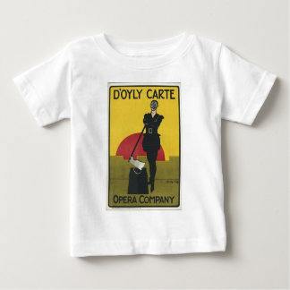 Yeoman of the Guard Vintage Opera Poster Baby T-Shirt