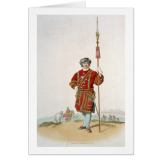 Yeoman of the King s Guard from Costume of Great Card