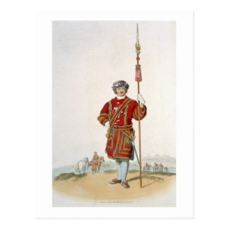 Yeoman of the King s Guard from Costume of Great Post Card