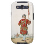 Yeoman of the King's Guard, from 'Costume of Great Galaxy S3 Cover
