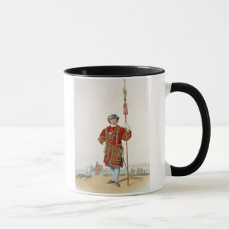 Yeoman of the King's Guard, from 'Costume of Great Mug
