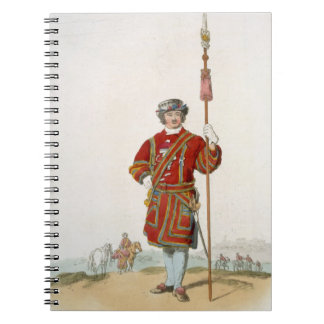 Yeoman of the King's Guard, from 'Costume of Great Notebooks