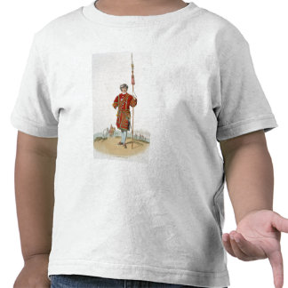 Yeoman of the King's Guard, from 'Costume of Great Tshirt