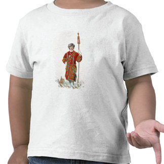 Yeoman of the King's Guard, from 'Costume of Great Tee Shirts