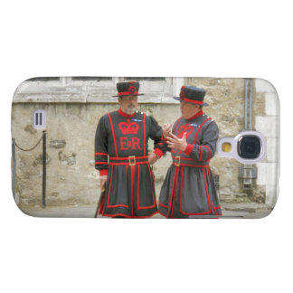 Yeoman warders, or beefeaters on duty galaxy s4 case
