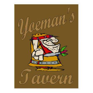 Yeoman's Tavern, Dart Player Postcard