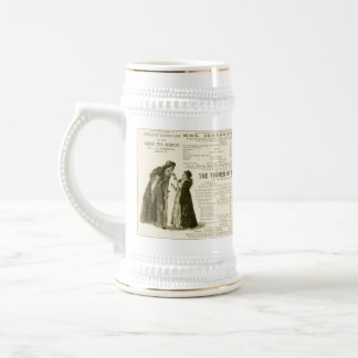 Yeomen of the Guard Cast Beer Stein
