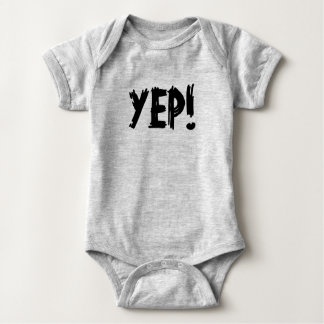 YEP! BABY BODYSUIT