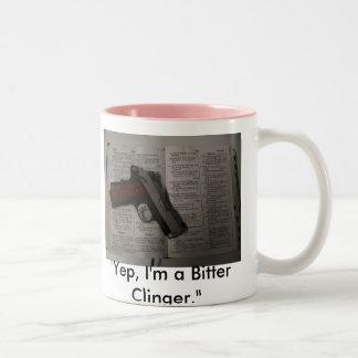 """Yep, I'm a Bitter Clinger."" Coffee Mug"