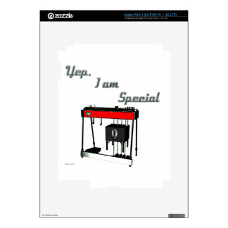 Yep I'm Special - Pedal Steel Guitar Skins For iPad 3
