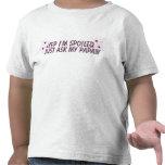 yep spoiled papaw t shirt