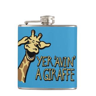 Yer 'avin' a giraffe slang cockney humor flask