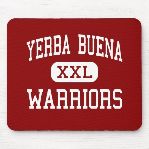 Yerba Buena - guerreros - alto - San Jose Tapete De Ratón