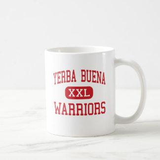 Yerba Buena - guerreros - alto - San Jose Taza Básica Blanca
