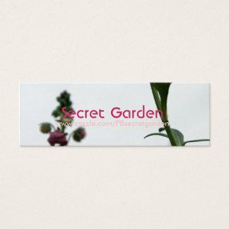 YeRed Blur - Diascia - Floral Photography 3 Mini Business Card