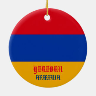 Yerevan Armenia Christmas Ornament