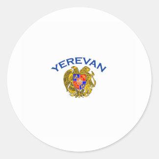 Yerevan, Armenia Classic Round Sticker