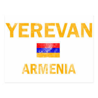 Yerevan Armenia Designs Postcard