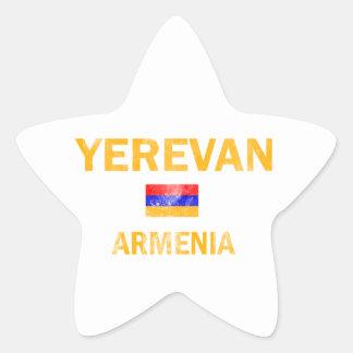 Yerevan Armenia designs Star Sticker