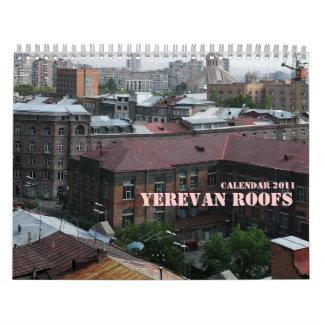 YEREVAN ROOFS CALENDAR