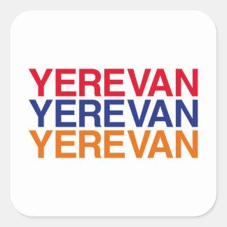 YEREVAN SQUARE STICKER