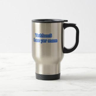 YerMom5 Official Logo Travel Mug