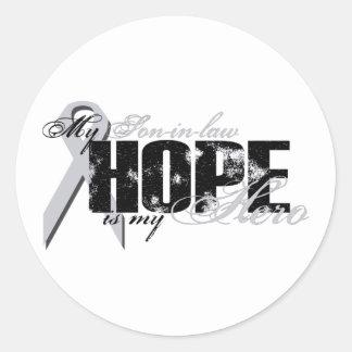 Yerno mi héroe - esperanza del pulmón etiqueta